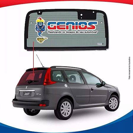 Vigia Térmico Paralelo Peugeot 207 Sw 09/15 Vidro Traseiro