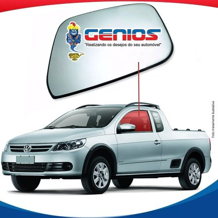 Vidro Porta Lado Esquerdo Volkswagen Saveiro G5 09/15