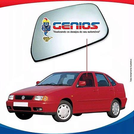 Vidro Porta Dianteiro Esquerdo Vw Polo Classic 97/02 4 Pts