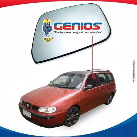 Vidro De Porta Dianteiro Esquerdo Seat Cordoba Vario 93/02