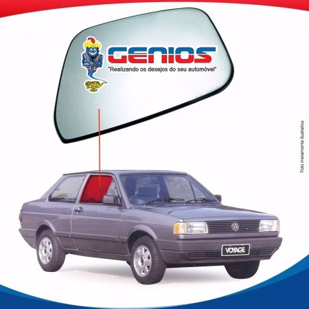 Vidro Porta Lado Direito Volkswagen Voyage 87/95