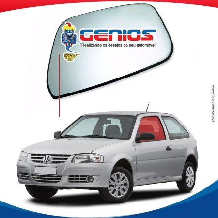 Vidro Porta Lado Esquerda Volkswagen Gol G4 2 Portas 06/14