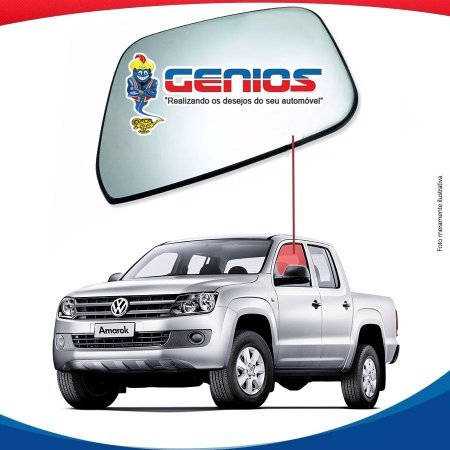 Vidro Porta Dianteiro Esquerdo Volkswagen Amarok 10/...