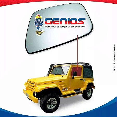 Vidro Porta Esquerdo Troller T4 Diesel 01/08