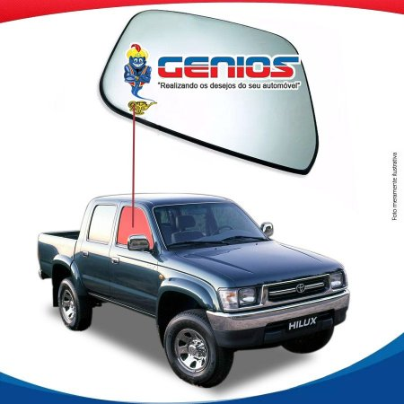 Vidro Porta Dianteiro Direito Toyota Hilux Pick-up 97/04