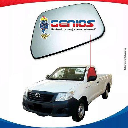 Vidro Porta Lado Esquerdo Toyota Hilux Pick Up Cabine Simples 05/15