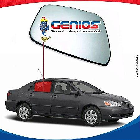 Vidro Porta Traseiro Direito Toyota Corolla 02/08