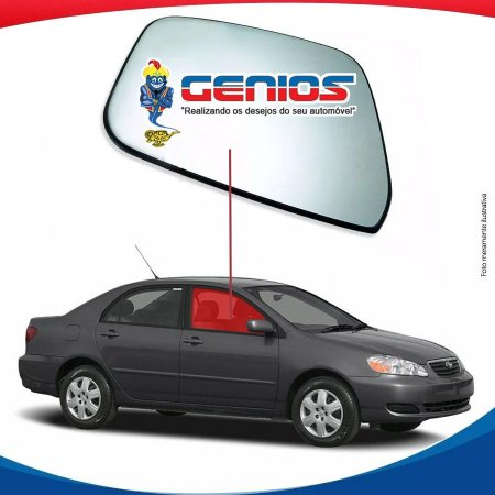 Vidro Porta Dianteiro Direito Toyota Corolla 02/08