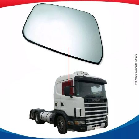 Vidro Porta Direito Scania S4 97/02
