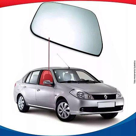Vidro De Porta Dianteiro Direito Renault Symbol 09/16