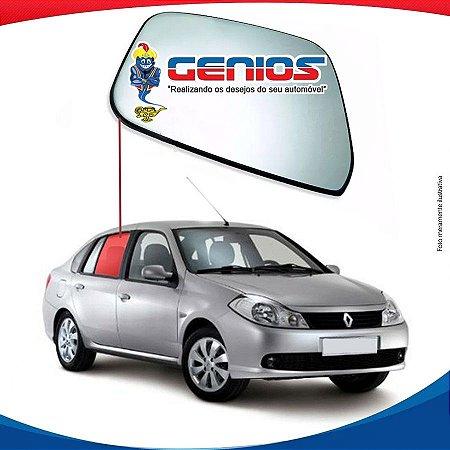 Vidro De Porta Traseiro Direito Renault Symbol 09/16