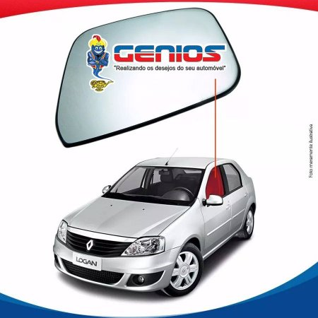 Vidro Porta Dianteiro Esquerdo Renault Logan 07/14