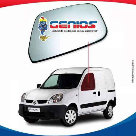 Vidro Porta Esquerdo Para Renault Kangoo 00/...