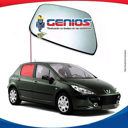 Vidro Porta Traseiro Direito Peugeot 307 Hatch 01/12 4 Pts