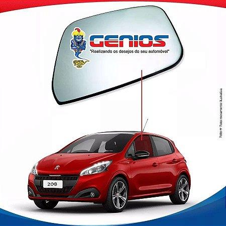 Vidro Porta Dianteiro Esquerdo Peugeot 208 14/17