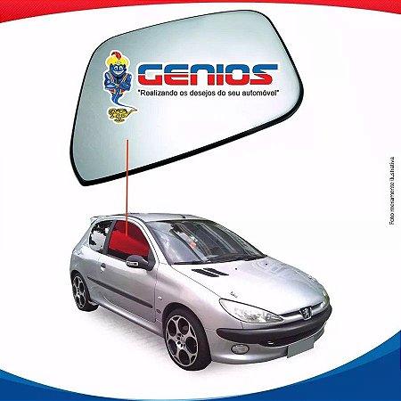 Vidro Porta Lado Direito Peugeot 206 98/08 2 Portas