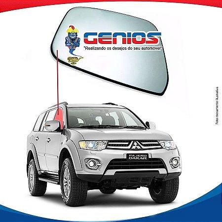 Vidro Porta Dianteiro Direito Mitsubishi Dakar 09/16