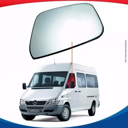 Vidro Porta Lado Esquerdo Sprinter Até 2011