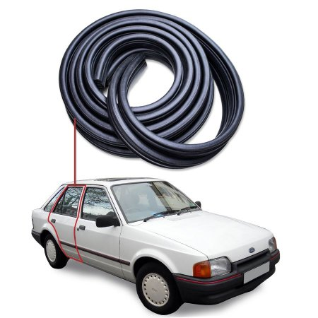 Borracha Tri-bulbo Porta Traseira Direita Ford Escort 83/92