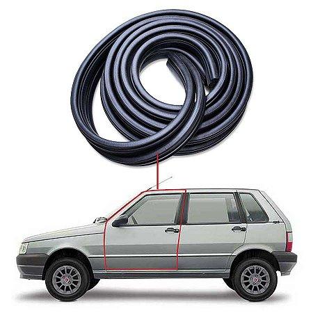Borracha Tubular Porta Direito Esquerdo Fiat Uno 84/14