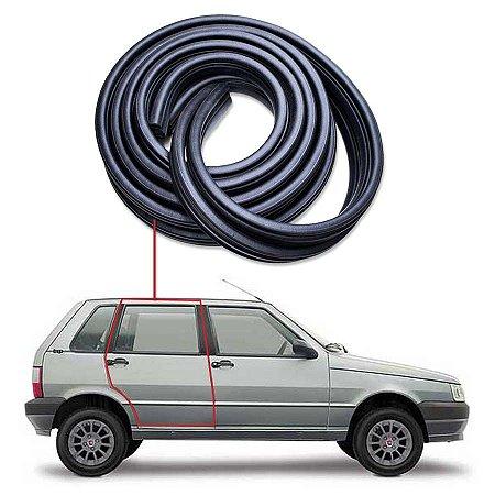 Borracha Tubular Porta Traseiro Direito Fiat Uno 84/14
