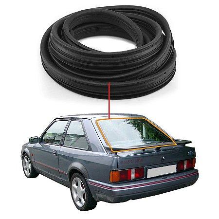 Borracha Vidro Traseiro Vigia Ford Escort 83/92