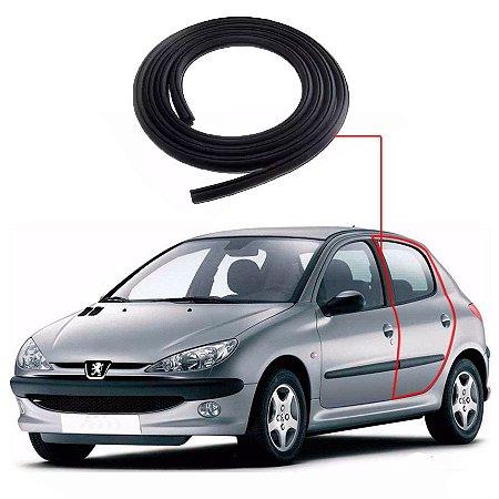 Borracha Porta Traseira Esquerda Peugeot 206