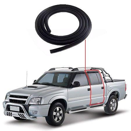 Borracha Porta Traseira Esquerda Chevrolet S10