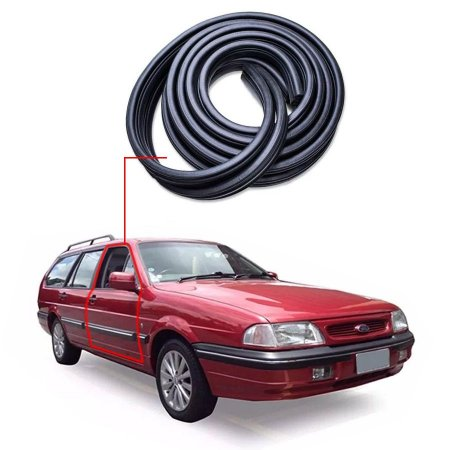 Borracha Tri-bulbo Porta Dianteira Direita Ford Royale