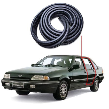 Borracha Tri-bulbo Porta Traseira Esquerda Ford Versailles