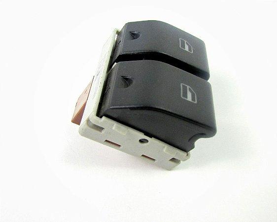 Botão Vidro Elétrico Gol G4 Simples / Duplo