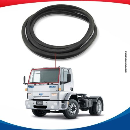 Borracha Parabrisa Ford Cargo 90/12