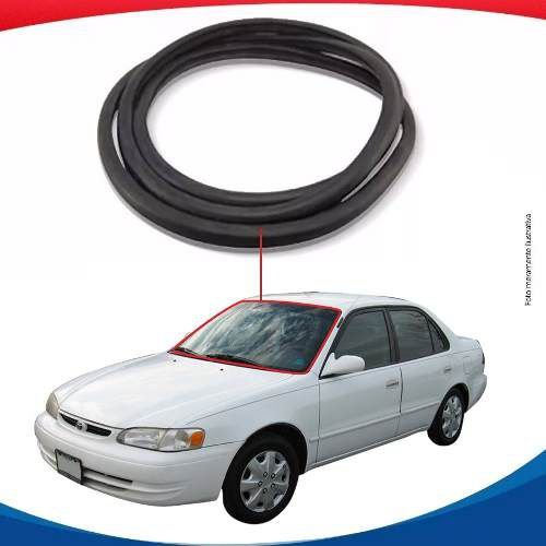 Borracha Superior e Lateral Parabrisa Toyota Corolla 98/02