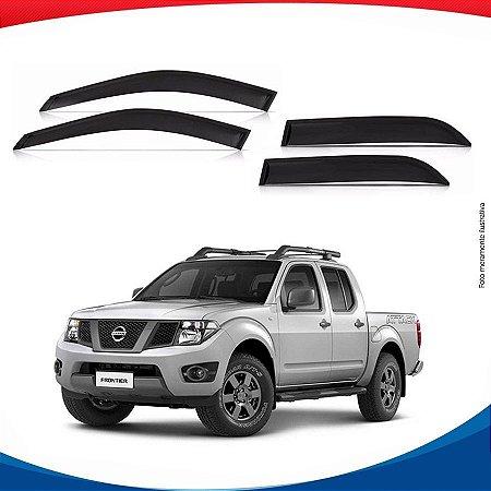 Calha de Chuva Nissan Frontier 4 Portas 08/...