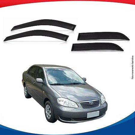 Calha de Chuva Toyota Corolla 4 Portas 03/07
