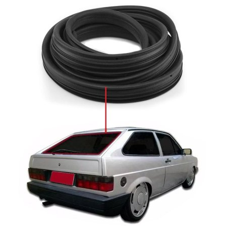 Borracha Vidro Traseiro Vigia Volkswagen Gol 79/94