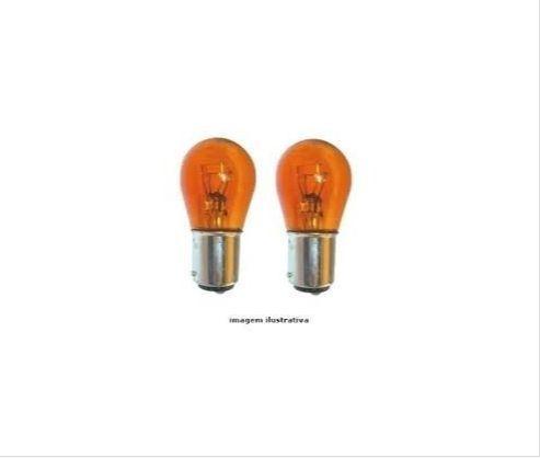 lampada 2 Polos laranja com Soquete