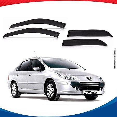 Calha de Chuva Peugeot 307 Sedan 4 Portas 01/...