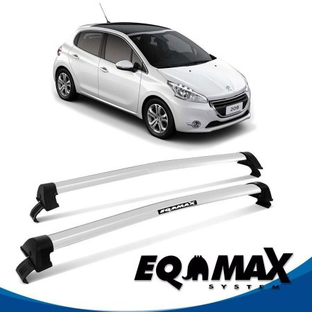 Rack Peugeot 208 4P New Wave 15/16 prata