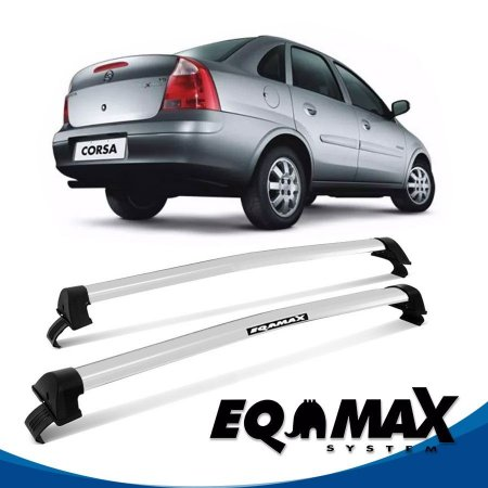 Rack Eqmax Corsa Joy/Premium 4P New Wave 02/12 Prata