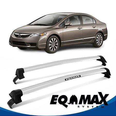 Rack Eqmax New Civic New Wave 06/11 prata