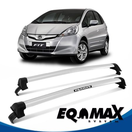 Rack Eqmax Honda Fit New Wave 09/13 prata
