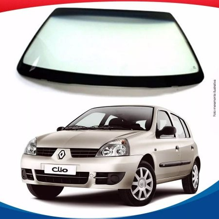 Parabrisa Renault Clio Nacional 99/16 Vidro Dianteiro Menedin