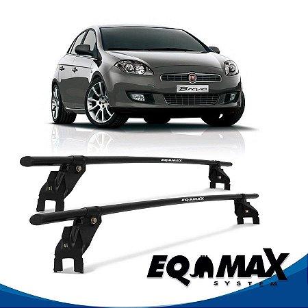 Rack Aço Teto Eqmax Fiat Bravo 4 Pts 12/15