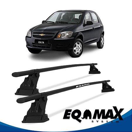 Rack Aço Teto Eqmax  Chevrolet Celta 4 Pts 00/11