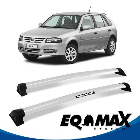Rack Eqmax VW Gol G3 e G4 4 Pts Wave 99/14 prata