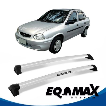 Rack Eqmax Chevrolet Corsa Classic Sedan 4 Pts Wave 94/15 prata
