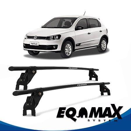 Rack Aço Teto Eqmax VW Gol Track 4 Pts 12/14