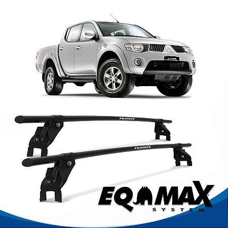 Rack Aço Teto Eqmax Mitsubishi L200 Triton 4 Pts 04/13