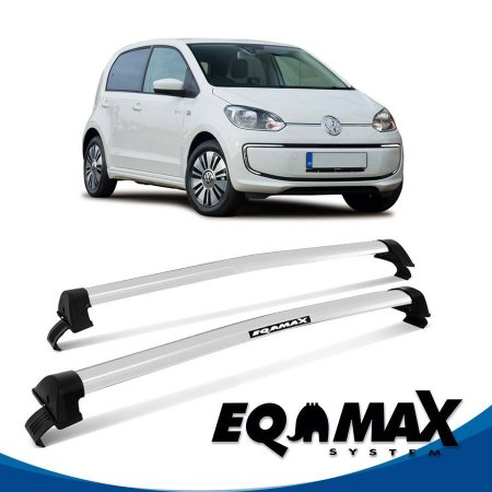 Rack Eqmax VW UP 4 Pts New Wave 2014 prata